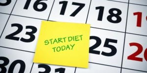 Start diet today. Finish diet on Friday....Start diet again on Monday. Sound familiar?
